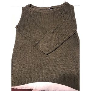 Forest green H&M Basics sweater